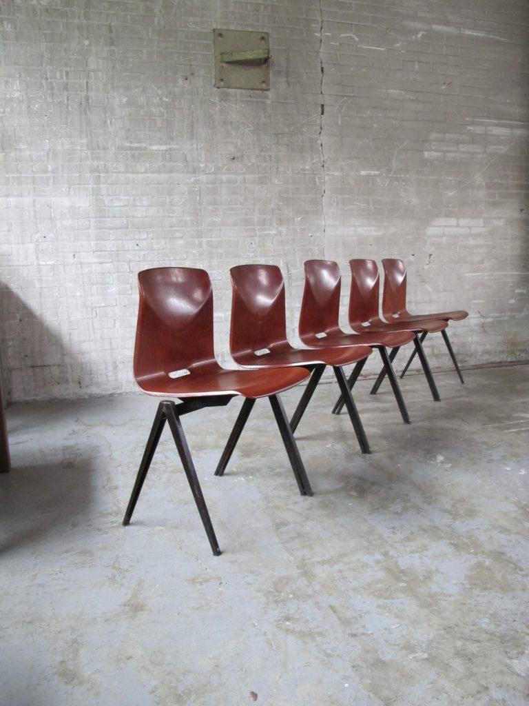 Pagholz Schoolstoelen hout metaal