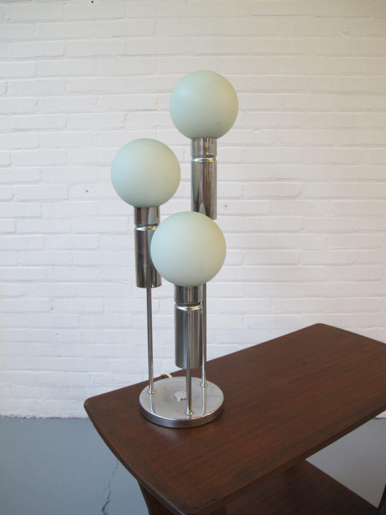 Solken Leuchten vintage drie spots kogels tafellamp