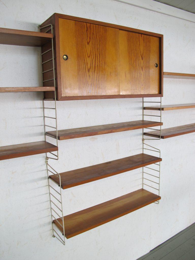 Wand systeem van Nisse Strinning string design AB Danmark