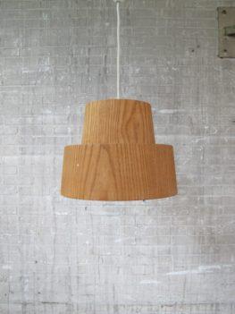 Hanglamp Hans Agne Jacobsson AB Ellysett Markaryd Zweden jaren 60