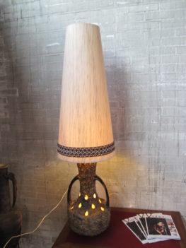 Vloerlamp Jaren 60 Roth Scheurich stijl keramieken lamp