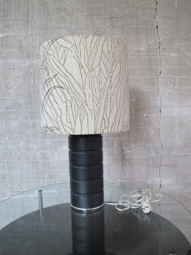 Schitterende Willy Rizzo stijl tafellamp