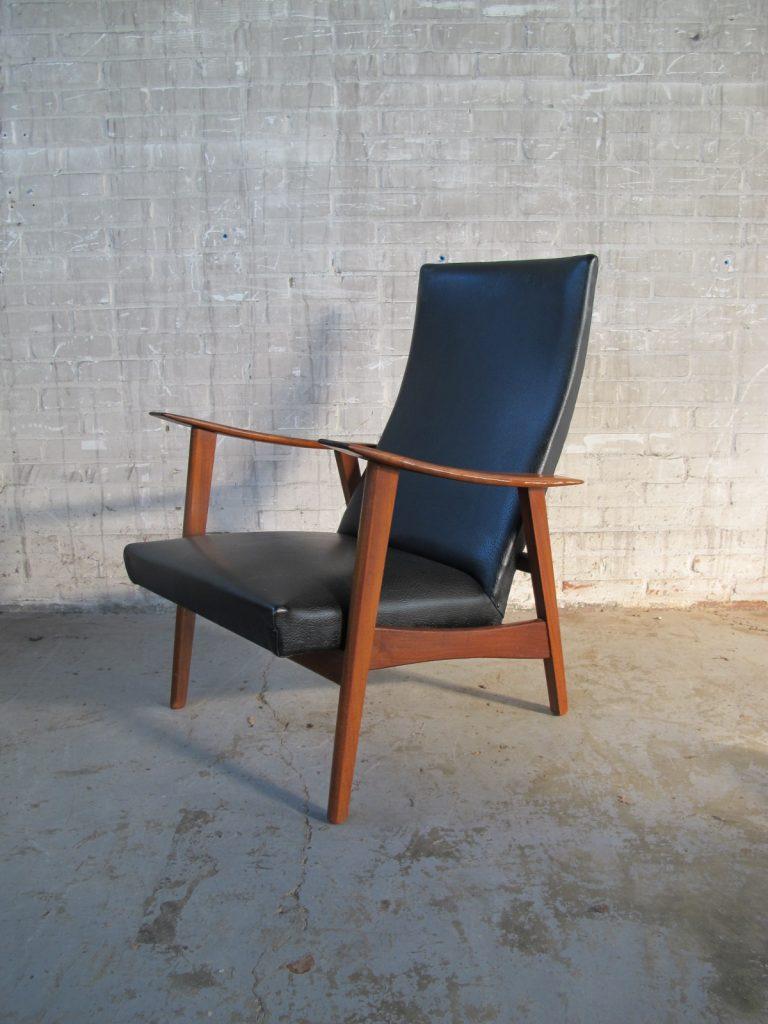 fauteuil pastoe louis van teeffelen stijl teakhout uit jaren 60 tweedehands kopen bij tussen. Black Bedroom Furniture Sets. Home Design Ideas