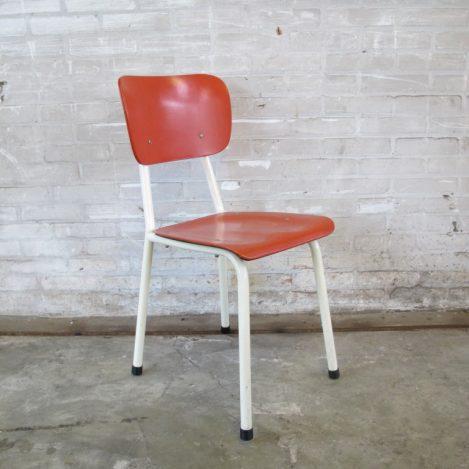 Twee stoelen Brabantia keuken stoeltjes jaren 60