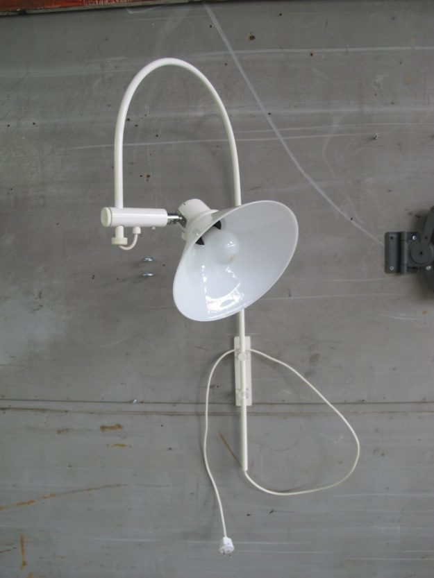 Raak Amsterdam stijl metalen boog wandlamp