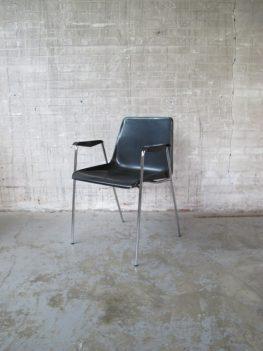 Vergader stoel bureaustoel A.Polak design TH.Tempelman