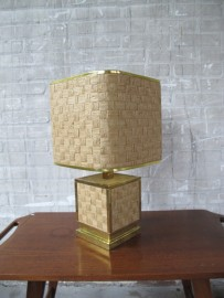 lampen deknudt willy rizzo brass tafellampen