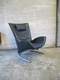 fauteuil mode 4100 rolf benz lederen relax