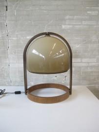 brons kleur lampje bureau
