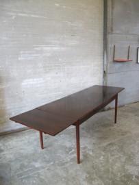 pastoe eethoek uitschuif tafel rio palissander