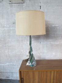zeldzaam valsanlambert kristallen glazen lamp