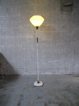 lamp raak amsterdam metalen glazen vloerlamp