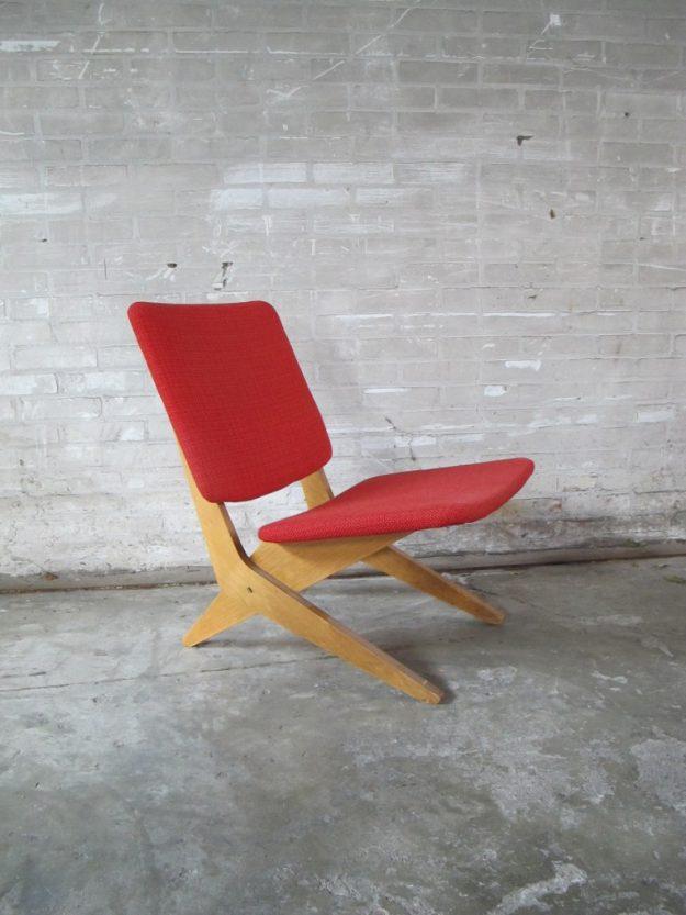 pastoe fauteuils fb18 scissor jan van grunsven