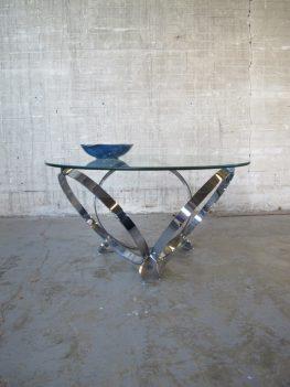 knut hesterberg chromen salontafel