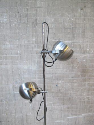 raak amsterdam metalen bol spots vloerlamp