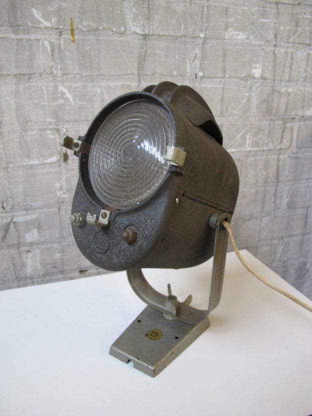 Lamp industriële Lita Theater spot jaren 60 Frankrijk