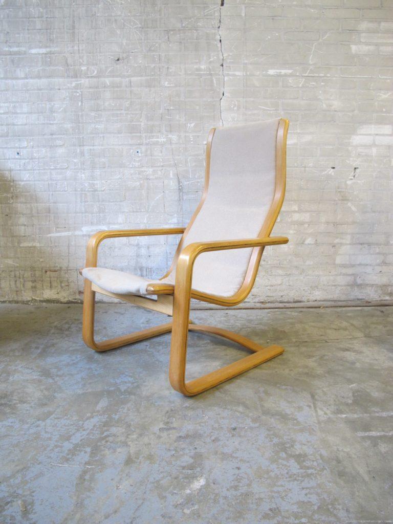 Yngve Ekström Swedese Lamello lounge fauteuil uit de jaren 70 Tweedehands Kopen bij Tussen Cor