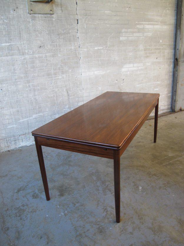 Palissander eethoek tafel
