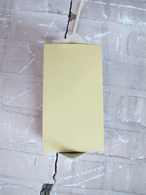 Metalen bed wandlamp
