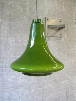 groen glazen pendant lamp