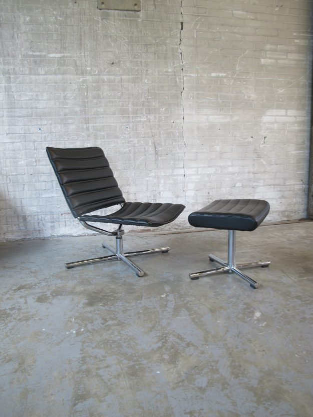fauteuil met Ottoman