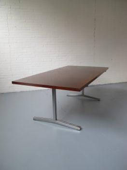 palissander houten tafel