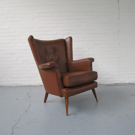Lounge fauteuil Theo Ruht voor Artifort