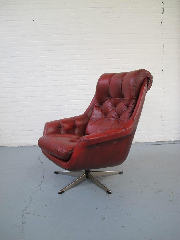 Scandinavische vintage relax fauteuil