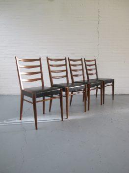 stoelen vintage teakhout stoel Pastoe danmark