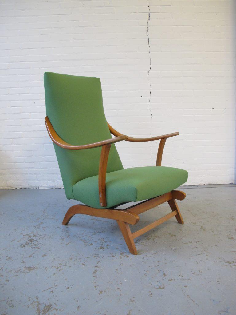 Fonkelnieuw Schommelstoel mooie Pastoe stijl teakhouten schommelstoel uit de TV-31