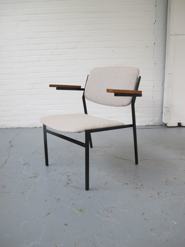Spectrum Martin Visser stijl fauteuil midsentury vintage