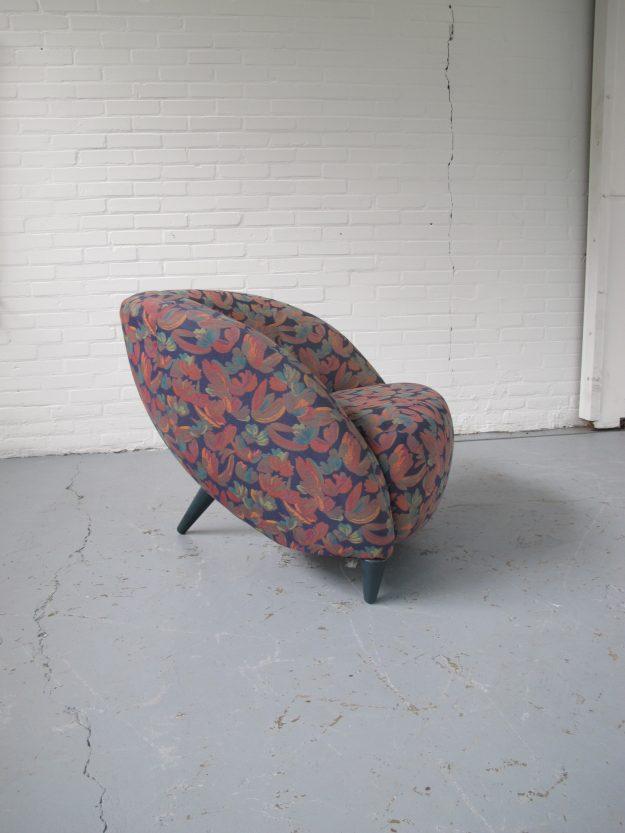 Leolux relax lounge fauteuil midsentury vintage