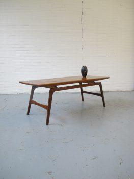 Tafel Webe Louis van Teeffelen salontafel vintage midsentury