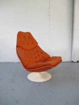 fauteuil F587 Geoffrey Harcourt Artifort vintage midsentury