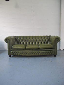 Originele Springvale Chesterfield bankstel vintage midsentury
