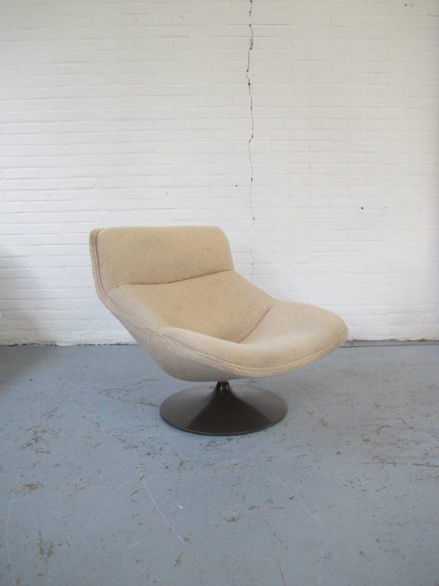 Lounge fauteuil F522 Geoffrey Harcourt Artifort vintage midsentury