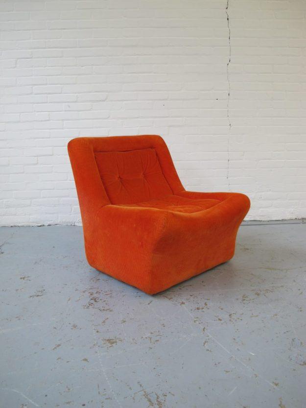 Club fauteuil Artifort vintage midsentury