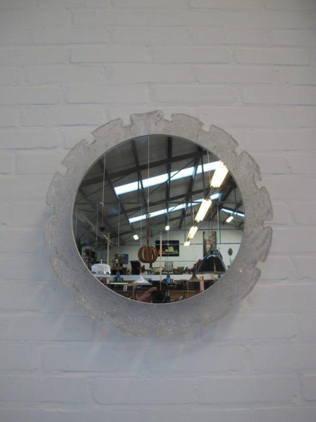 Raak Amsterdam Hillebrand spiegel verlichting vintage midsentury