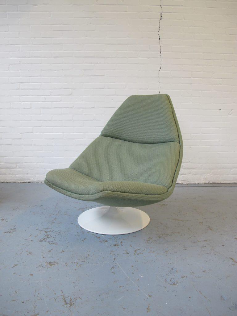 2e Hands Artifort Fauteuils.Lounge Fauteuil F511 Van Geoffrey Harcourt Voor Artifort Jaren 70
