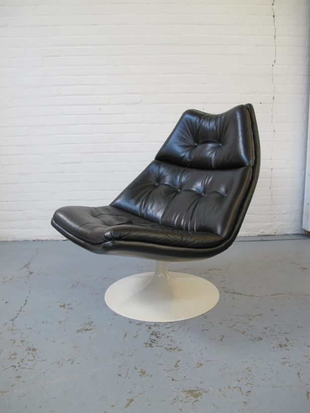 lounge fauteuil F590 Geoffrey Harcourt Artifort vintage midsentury