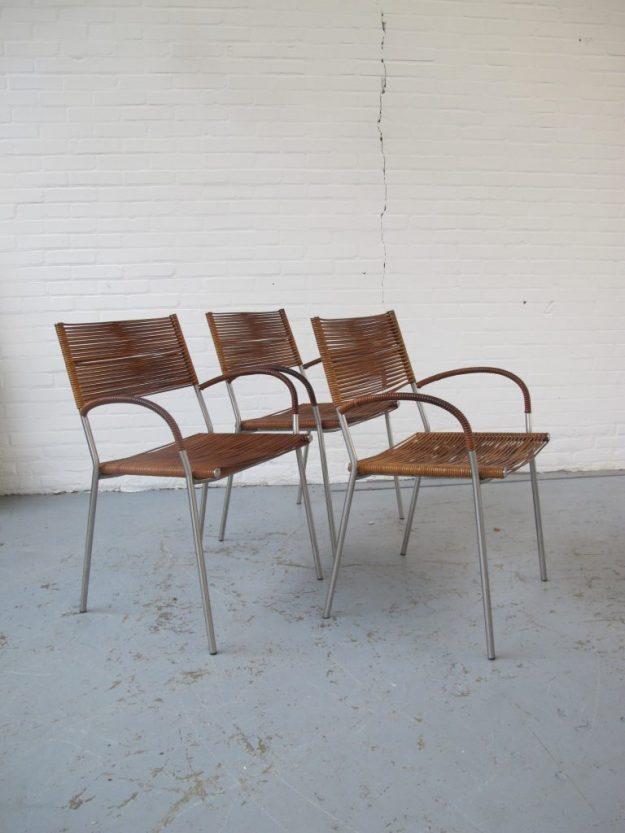 stoel Miss B2 stoelen Tito Agnoli Pierantonio Bonacina midsentury vintage
