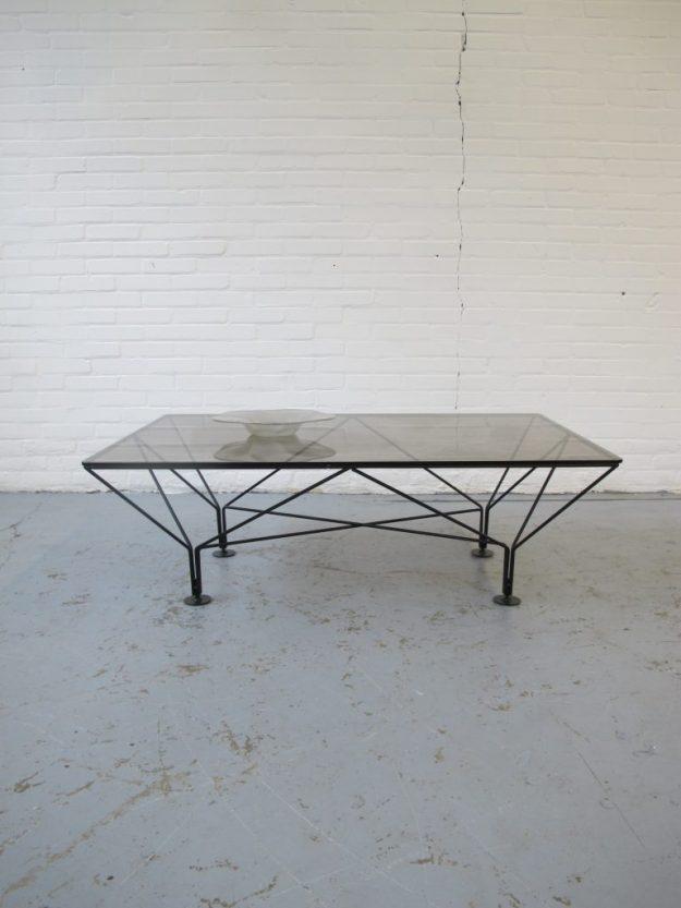Tafel Paolo Piva B &B Italië Jaren 60 midcentury furniture vintage