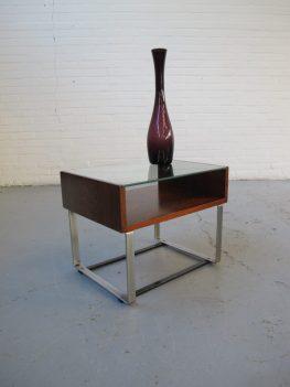 tafel tafeltje nachtkastje palissander Pastoe Fristho midcentury furniture vintage