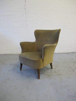fauteuil Loungefauteuil van Theo Ruth Artifort vintage midsentury
