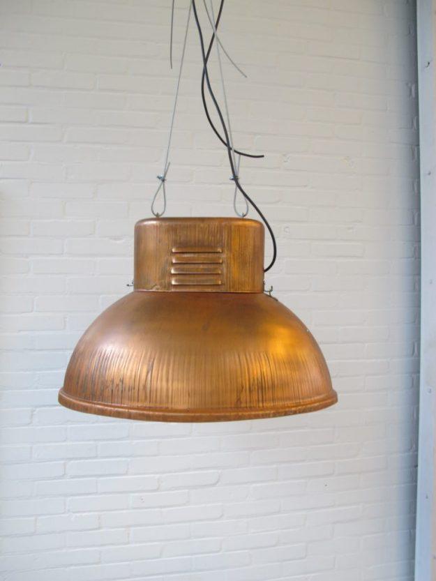 Vintage midcentury lampen fabriekslampen industriel