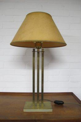 lamp DeKnudt Willy Rizzo messing brass tafellamp midsentury vintage