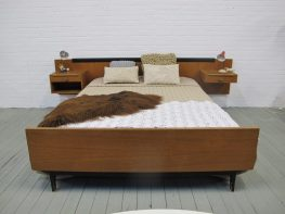vintage midsentury Pastoe Cees braakman stijl bed slaapkamer