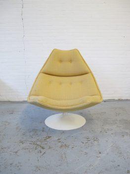 Fauteuil Loungefauteuil F588 Geoffrey Harcourt Artifort midsentury vintage
