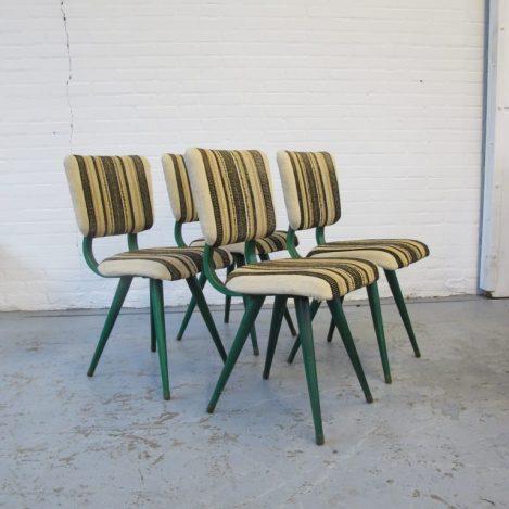 Pastoe Cees braakman stoelen midsentury vintage