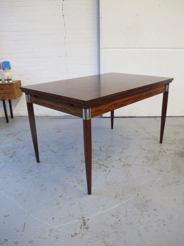 Fristho eethoek tafel jaren 60 palissander midsentury vintage